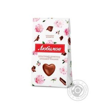 Шоколад Любімов Gapchinska молочний 100г