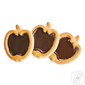 Печенье Делиция Райские яблочки вкус шоколада