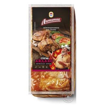 Бедра Наша Ряба Аппетитная Айдахо бройлера, маринованные охлажденные (упаковка ~1400г)