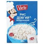 Рис Varto длинный шлифованный в пакетиках 4шт х 100г