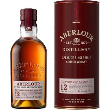 Виски Aberlour 12 лет 40% 0,7л в тубусе - купить, цены на Таврия В - фото 1