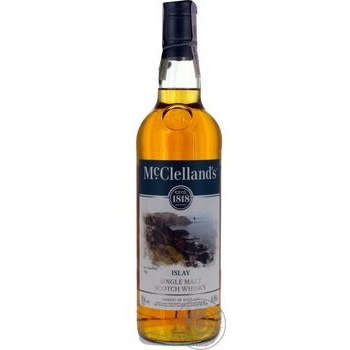McClelland's islay single malt scotch whiskey 40% 0,7l - buy, prices for CityMarket - photo 1