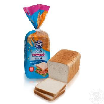 Хлеб тостовый Кулиничи Европейский белый 330г - купить, цены на Novus - фото 1