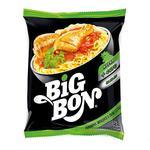 Локшина Big Bon швидкого приготування курка з соусом сальса 75г