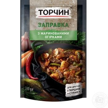 Torchin Cooking Base For Rossolnik With Pickled Cucumbers 240g