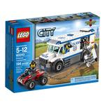 Construction toy Lego City Police Prisoner Transporter for 5 to 12 years children 195 pieces