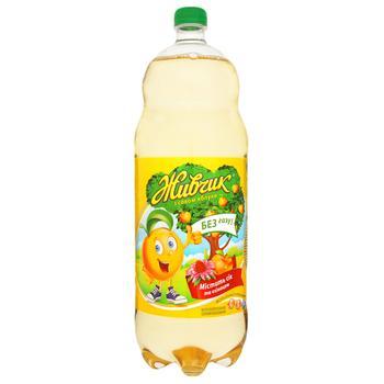 Напиток безалкогольный Живчик с соком яблока соковый негазированный 2л - купить, цены на Фуршет - фото 2
