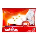 Bolsius White Tealights 12pcs