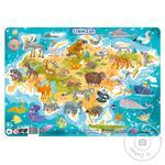 DoDo Puzzle with Frame Eurasia 53 elements