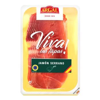 Argal Serrano Sliced Raw Cured Jamon 70g