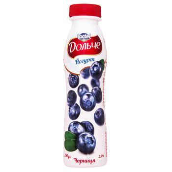 Йогурт Дольче черника 2,5% 290г