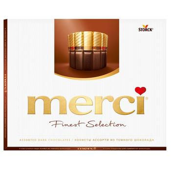 Merci Finest Selection Dark Chocolate Candies Assorti 250g - buy, prices for Furshet - image 1