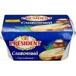 Сыр Президент Сливочный плавленый 45% 400г