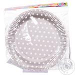 Set Paper Plates For Party 10pc*23cm