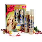 Подарочный набор Wellaflex Лак для волос Объем сильная фиксация 250мл + Мусс для укладки Объем до 2-х дней экстрасильная фиксация 200мл