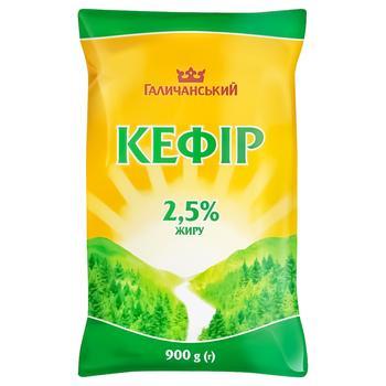 Кефір ГаличанськиЙ 2,5% 900г - купити, ціни на Ашан - фото 1