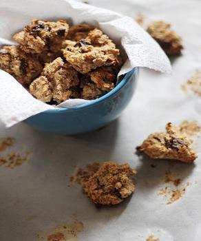 Вівсяне печиво з мигдалем та шоколадом