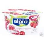 Йогурт соевый Alpro Малина-Клюква 150г