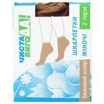 Носки Чистая ВыгоДА! 40 ден женские бежевые 2 пары