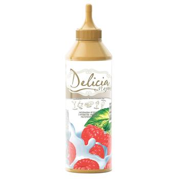 Delicia Raspberry Topping 600g