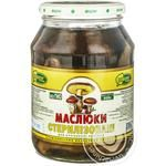 Mushrooms suillus Charme pickled 920g glass jar