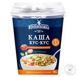 Каша Новоукраинка кус кус с томатами и базиликом 55г