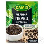 Перец черный Kamis горошек 20г - купить, цены на Таврия В - фото 1