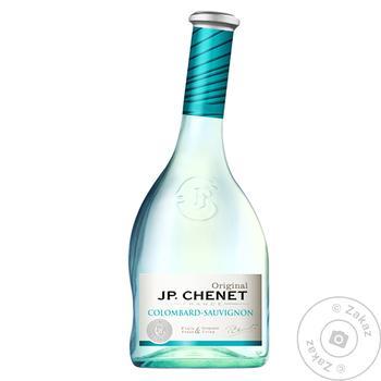 Вино J.P.Chenet Colombard-Sauvignon белое полусухое 11% 0,75л