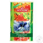 Чай Hyson Лесные ягоды зеленый 100г