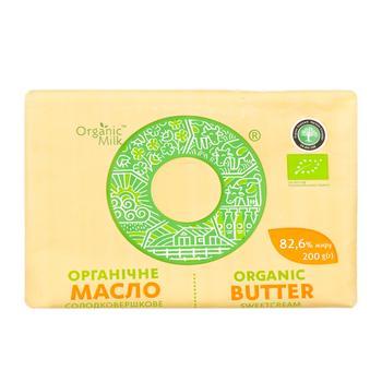 Organic Milk Sweet-Cream Extra Butter 200g