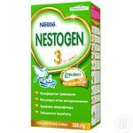 Суміш молочна Nestle Nestogen 3 суха з пребіотиками для дітей з 10 місяців 350г