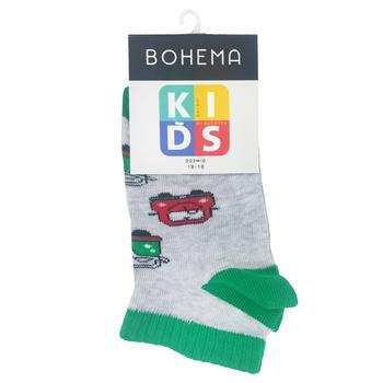 Шкарпетки Bohema Kids Тачки дитячі укорочені р.16-18 - купити, ціни на Varus - фото 1