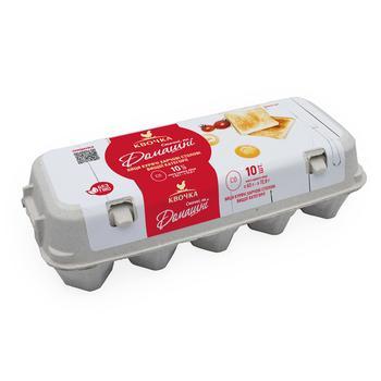 Яйца куриные Квочка Домашние С0 10шт