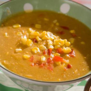 Африканський суп з кунжутом і спеціями