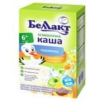 Bellakt Dry Non-dairy Wheat Porridge with Apricot and Apple 200g