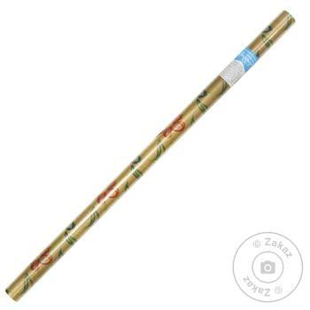 Бумага Happycom для упаковки подарков 70х150см - купить, цены на Ашан - фото 1