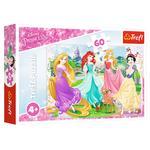 Пазл Trefl Любимые принцессы Disney 60элементов - купить, цены на Таврия В - фото 1