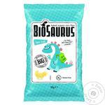 Biosaurus Corn Snacks with Sea Salt 4х15g