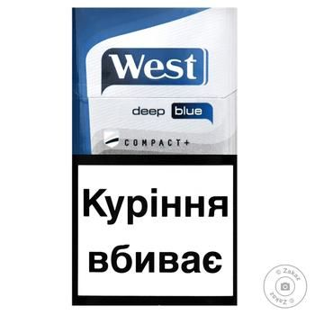 West Compact Blue Cigarettes - buy, prices for Furshet - image 3