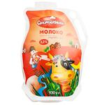 Молоко Смаковеньки пастеризоване 3,2% 930г