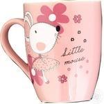 Cup Galleryglass porcelain 350ml