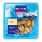 Мидии Norven в рассоле 170г