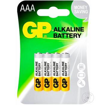Батарейка GP Gray АА 4шт - купити, ціни на Метро - фото 1