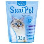 Наполнитель гигиенический Природа Sani Pet для котов силикагелевый 3,8л