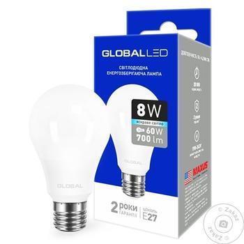 Лампа светодиодная Global 8W Е27