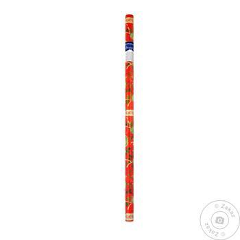 Папір для пакування подарунків різдвяна Happycom (1,5м*70см) традиційнідизайни - купить, цены на Novus - фото 1