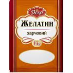 Deco Food Gelatin 15g