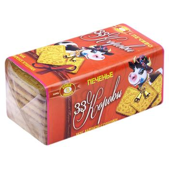 HBF Biscuit-Chocolate 33 Cows Cookies with Boiled Condensed Milk Flavor 180g