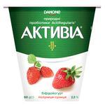 Бифидойогурт Activia клубника-земляника 2,5% 260г