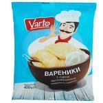 Вареники Varto с сыром замороженные 400г